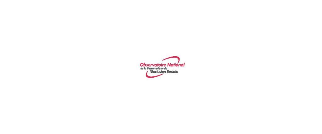 Logo Observatoire National de la Pauvreté et de l'Exclusion Sociale