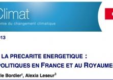 La précarité énergétique : analyse des politiques en France et au Royaume-Uni